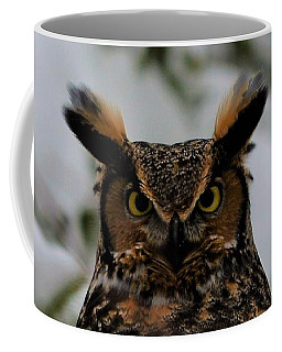 Horned Owl Coffee Mug