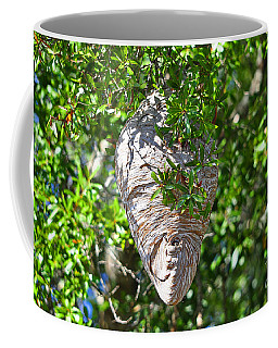 Coffee Mug featuring the photograph Hornets Home by Al Powell Photography USA