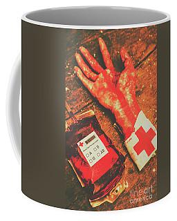 Horror Hospital Scenes Coffee Mug
