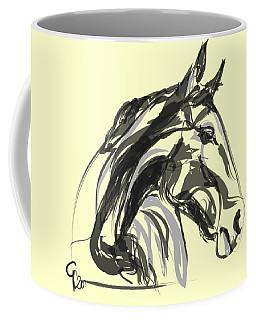 horse - Apple digital Coffee Mug