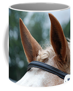 Horse At Attention Coffee Mug