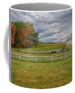 Horse Barn In Ohio  Coffee Mug
