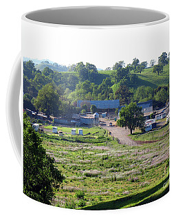 Horse Barns In California Coffee Mug