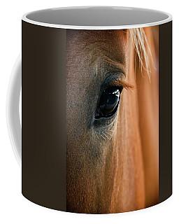 Horse Eye Coffee Mug