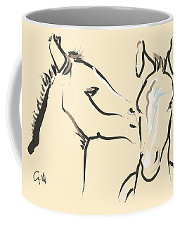 Horse-foals-together 6 Coffee Mug