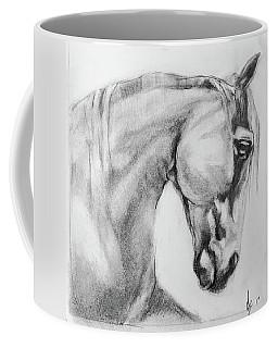 Horse Graphite Sketch  Coffee Mug