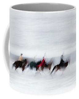 Horse Hunt #8111 Coffee Mug