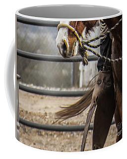 Horse In Hackamore Coffee Mug