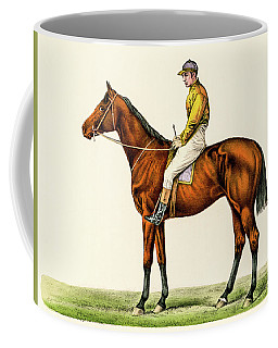 Horse Jockey Coffee Mug