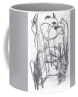 Horse Kiss Coffee Mug