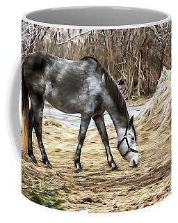 Horse On The Farm Coffee Mug