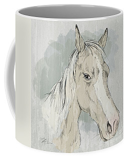Horse Portrait-farm Animals Coffee Mug