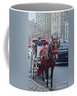 Coffee Mug featuring the photograph Horse Power by Sandy Moulder
