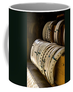 Coffee Mug featuring the photograph Horse Shoes by Angela Rath