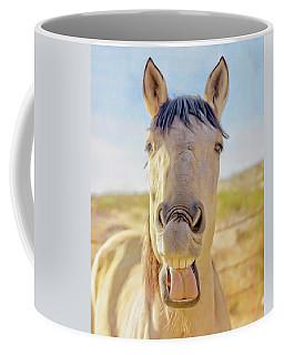 Horse Talk #2  Coffee Mug