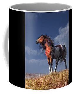 Horse With War Paint Coffee Mug