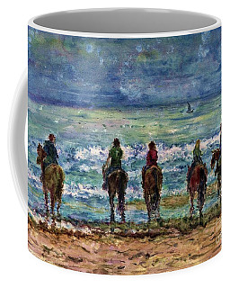 Horseback Beach Memories Coffee Mug