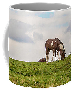 Horses And Clouds Coffee Mug