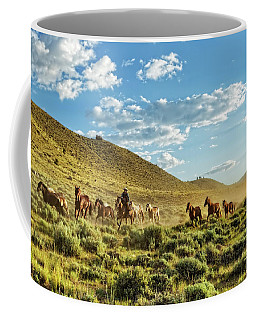 Horses And More Horses Coffee Mug