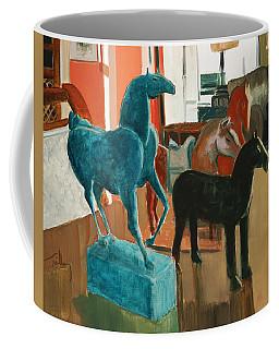 Horses Four Coffee Mug