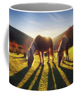 Horses In Austigarmin Coffee Mug