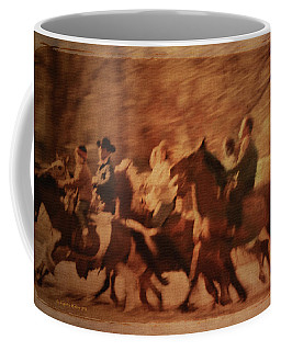 Horses In Motion  Coffee Mug