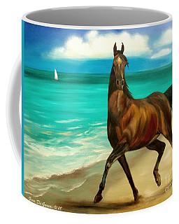 Horses In Paradise  Dance Coffee Mug