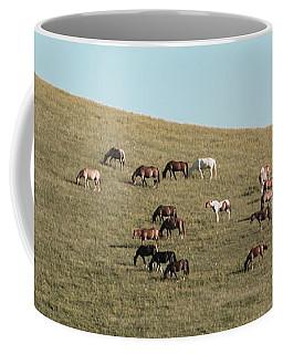 Horses On The Hill Coffee Mug
