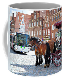 Horses On Tour Coffee Mug