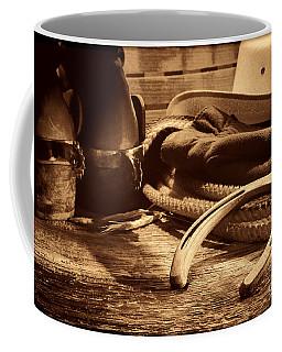 Horseshoe And Cowboy Gear Coffee Mug