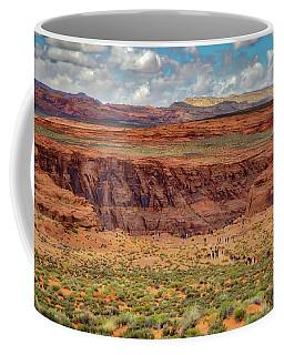 Coffee Mug featuring the photograph Horseshoe Bend Arizona #2 by Jennifer Rondinelli Reilly - Fine Art Photography