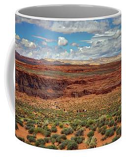 Coffee Mug featuring the photograph Horseshoe Bend  - Arizona by Jennifer Rondinelli Reilly - Fine Art Photography