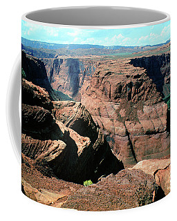 Horseshoe Bend Of The Colorado River Coffee Mug