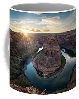 Horseshoe Bend Sunset Coffee Mug