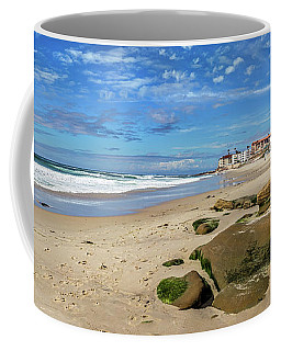 Coffee Mug featuring the photograph Horseshoes by Peter Tellone