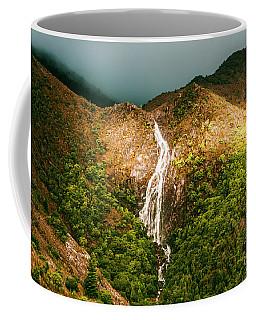 Horsetail Waterfalls Tasmania  Coffee Mug