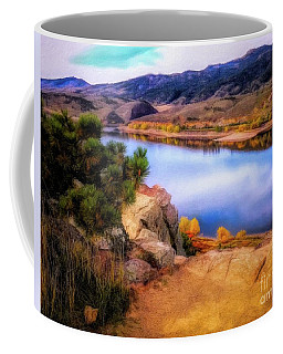 Horsetooth Lake Overlook Coffee Mug