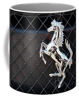 Coffee Mug featuring the photograph Horsey by John Schneider