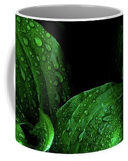 Hostas After The Rain I Coffee Mug