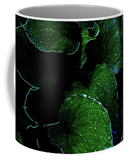 Hostas After The Rain II Coffee Mug
