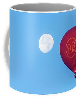 Hot Air Balloon And Moon Coffee Mug