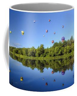 Quechee Balloon Fest Reflections Coffee Mug