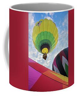 Hot Air Balloon Takeoff Coffee Mug
