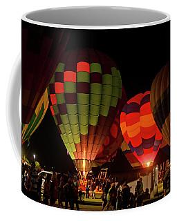 Hot Air Balloons At Night October 28, 2017 #1 Coffee Mug