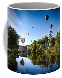 Hot Air Balloons In Quechee 2015 Coffee Mug