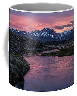 Hot Creek Sunset Coffee Mug