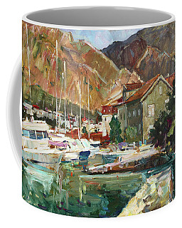 Hot Day At The Marina Coffee Mug