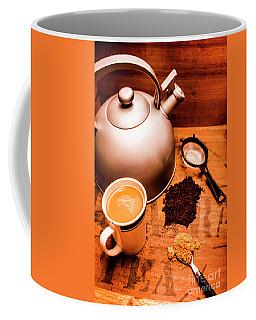 Hot Drink Details. Tea Print Coffee Mug