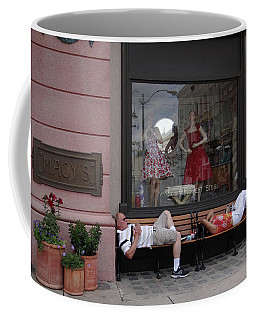 Hot In The City Coffee Mug by Julia Wilcox