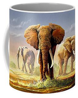 Hot Mara Afternoon Coffee Mug by Anthony Mwangi
